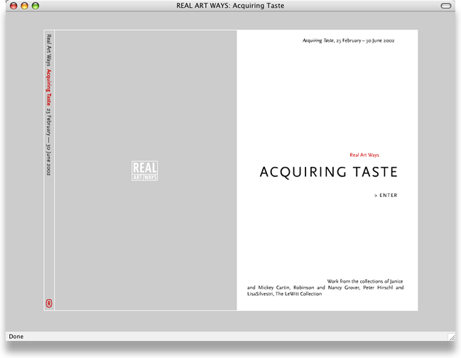 Acquiring Taste Cover