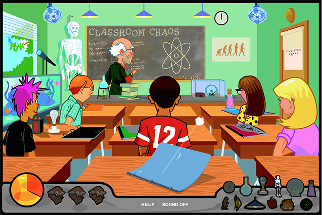 Classroom Chaos: Mead WestVaco Game
