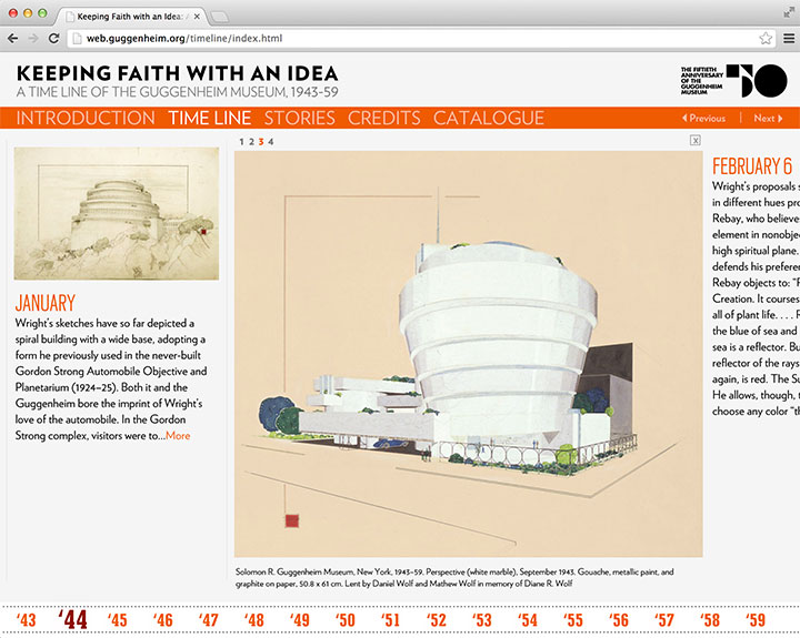 The Guggenheim Museum: Keeping Faith with an Idea