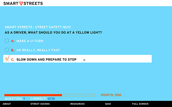 Smart Streets Guide to Street Safety